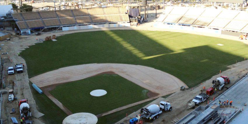 Dodger Stadium Renovation