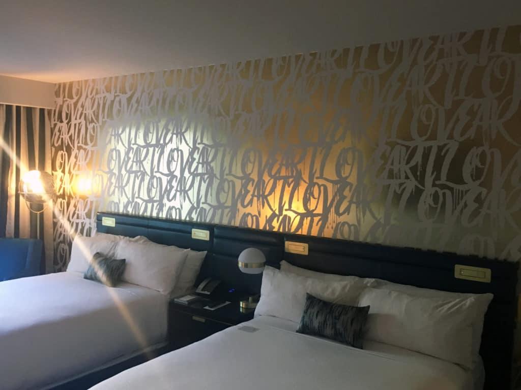 Cosmopolitan Guest Room Remodel