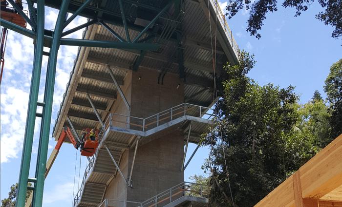 San Diego Zoo Mesa Bridge