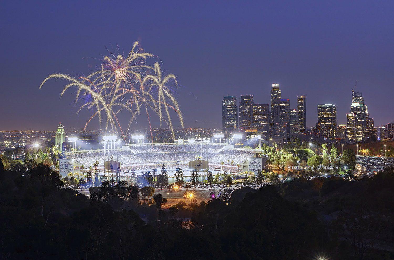 Dodger Stadium Opening