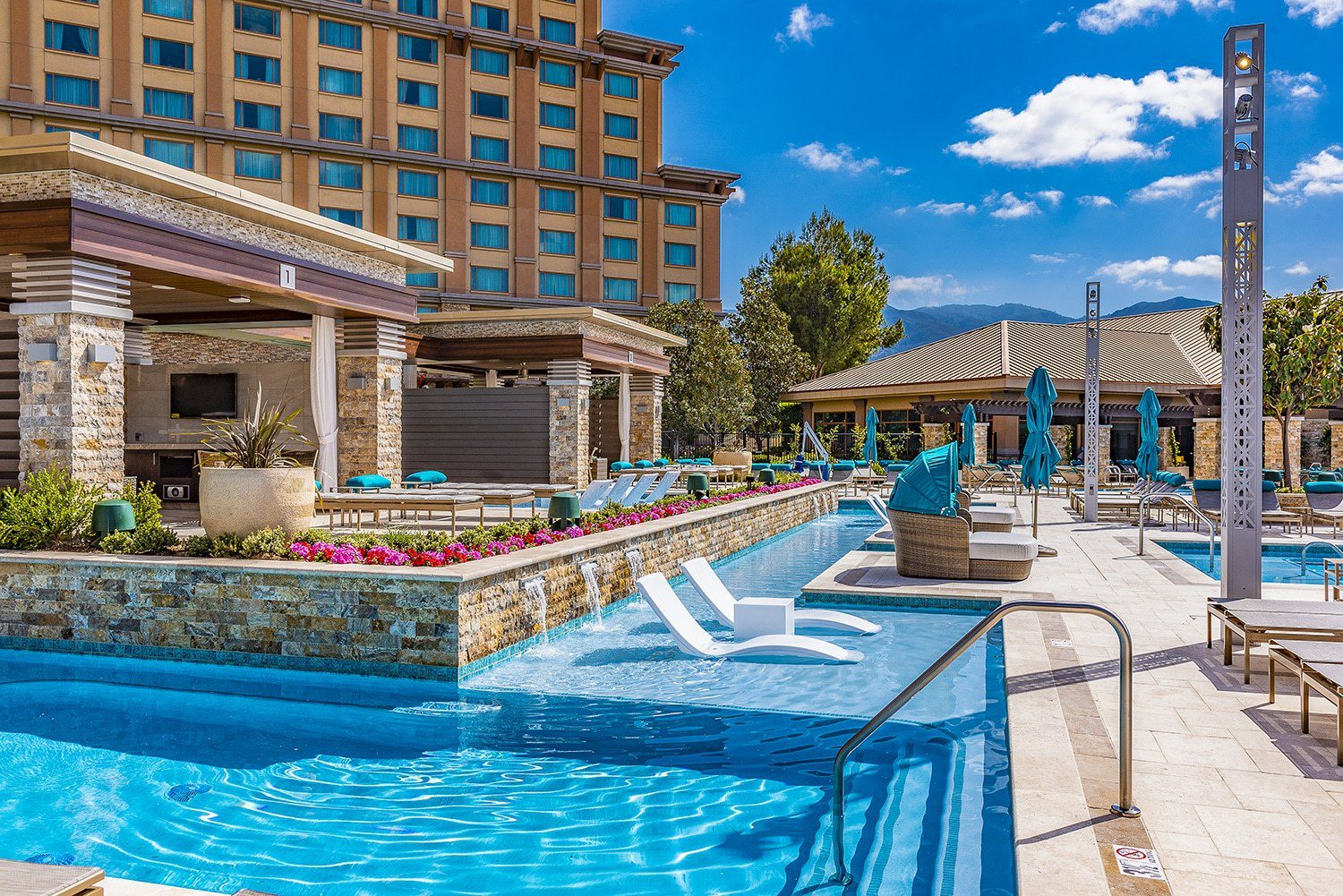 The Pala Casino Spa & Resort's New Pool Complex 7
